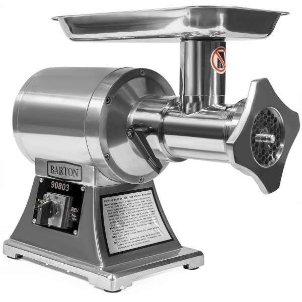 1100W Electric Stainless Steel Meat Grinder Mincer  Maker #22 Grinder with (2) Cutting Blade