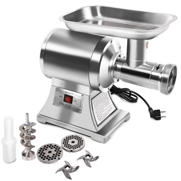 1100W Stainless Steel Heavy Duty #22 Electric Meat Grinder EP21595 WC