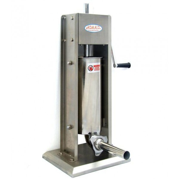 11 Lb  Stuffer Double Speed Stainless Steel Vertical  Makers
