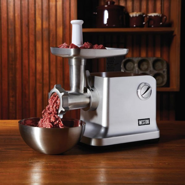 #12 1 HP Electric Meat Grinder and  Stuffer